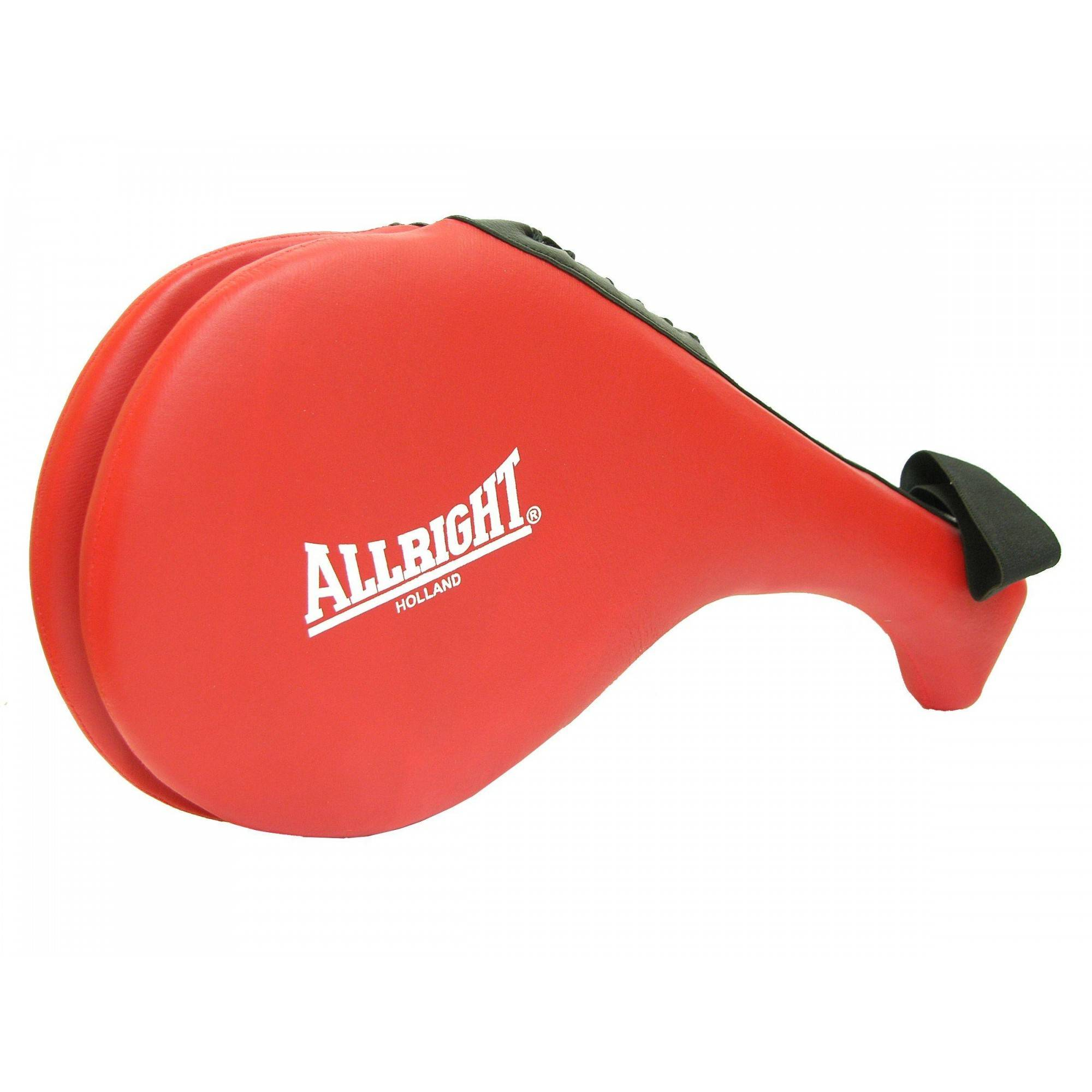 Packa do taekwondo podwójna Allright czerwona | skóra PU,producent: ALLRIGHT, zdjecie photo: 1 | online shop klubfitness.pl | sp