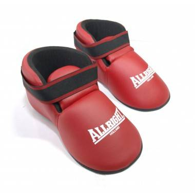 Buty do kickboxingu treningowe ALLRIGHT czerwone rozmiar S,producent: ALLRIGHT, photo: 2