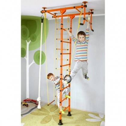 Drabinka gimnastyczna dla dzieci STAYER SPORT JUMP ONE montowana do sufitu,producent: STAYER SPORT, photo: 8
