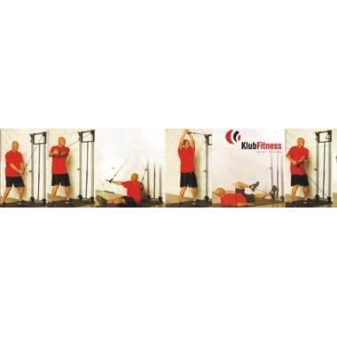 Zestaw lin treningowych na drzwi TOWER 200 INSPORTLINE gumy do ćwiczeń,producent: INSPORTLINE, photo: 6