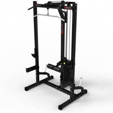 Klatka half rack z wyciągiem 115kg MegaTec MT-HR-10+LMO-SW,producent: MegaTec, zdjecie photo: 1 | online shop klubfitness.pl | s