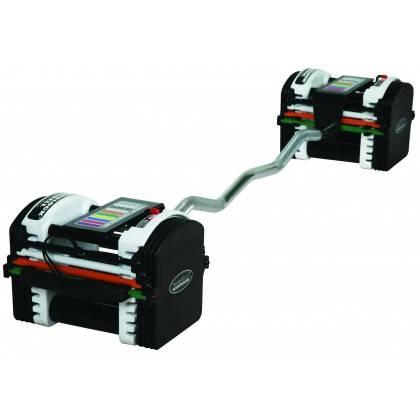 Gryf łamany uretanowy 118 cm PowerBlock PBBAREZ do modułowego systemu regulacji obciążeń,producent: POWER BLOCK, photo: 3