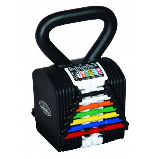 Hantla kettlebell PowerBlock PBKB40 KettleBlock | waga 4kg÷18kg PowerBlock® - 1 | klubfitness.pl