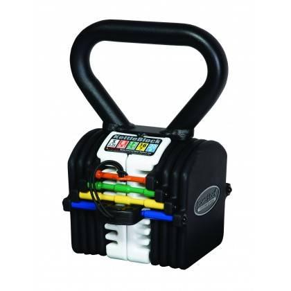 Hantla kettlebell PowerBlock PBKB20 KettleBlock | waga 2kg÷9kg PowerBlock® - 1 | klubfitness.pl