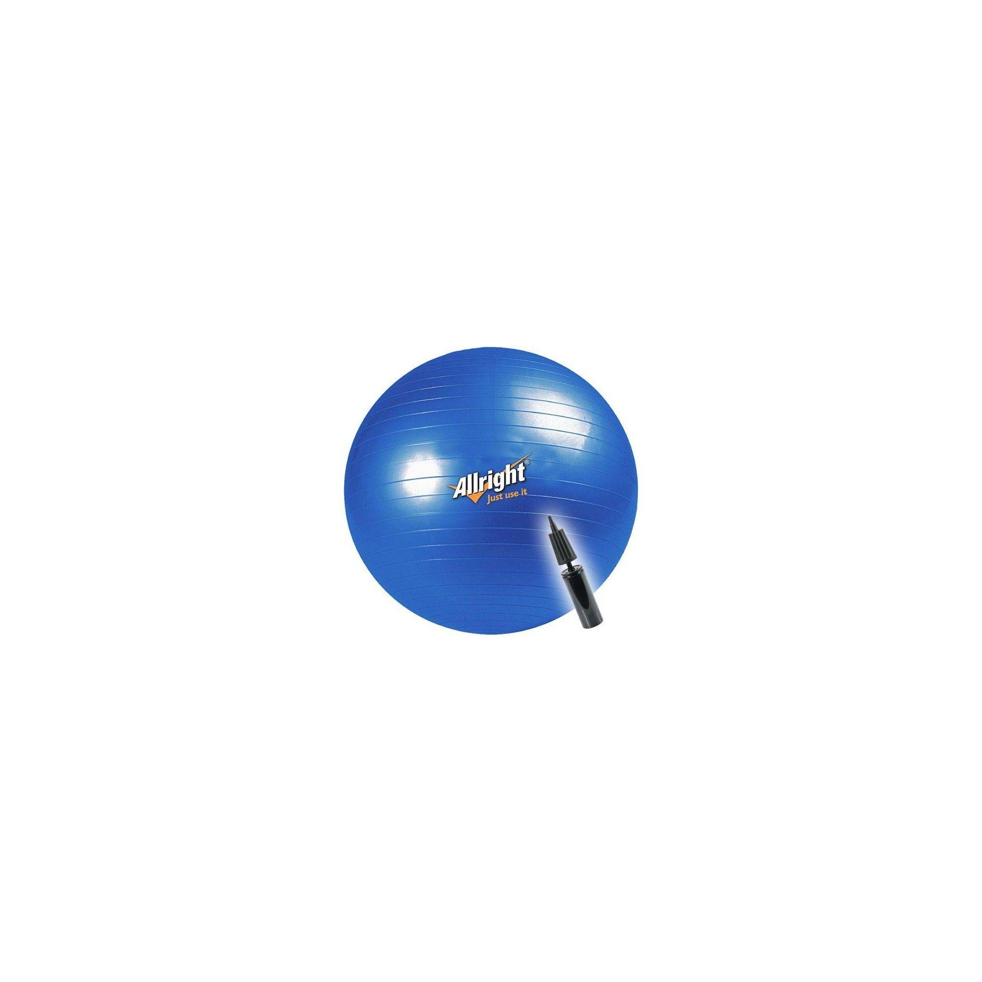 Piłka gimnastyczna Allright 75cm | niebieska,producent: ALLRIGHT, zdjecie photo: 1 | online shop klubfitness.pl | sprzęt sportow