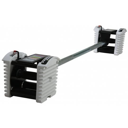 Gryf prosty 140cm PowerBlock PBBARST | modułowy system obciążeń uretanowych,producent: PowerBlock, zdjecie photo: 1 | online sho