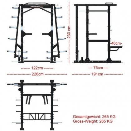 Klatka treningowa Barbarian-Line BB-9031 PRO Power Rack,producent: Barbarian-Line, zdjecie photo: 21 | online shop klubfitness.p