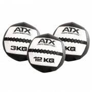 Piłka wall ball ATX® CFB czarny / biały|3kg -12kg ATX - 1 | klubfitness.pl | sprzęt sportowy sport equipment