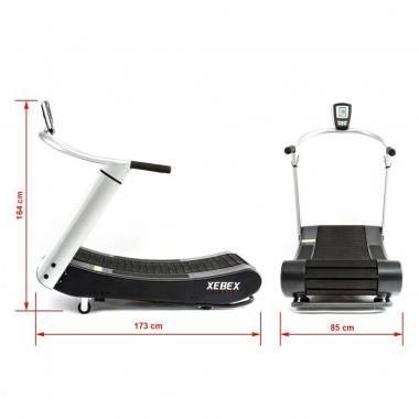 Bieżnia treningowa XEBEX Curved do Crossfit wytrzymałość 230 kg,producent: XEBEX FITNESS, photo: 15