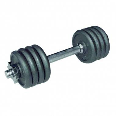 Hantla żeliwna gwintowana H12 o wadze 12 kg  - 1 | klubfitness.pl