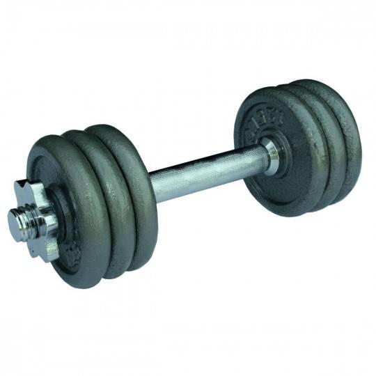 Hantla żeliwna gwintowana H18 waga 9,5 kg,producent: Stayer Sport, zdjecie photo: 1 | online shop klubfitness.pl | sprzęt sporto
