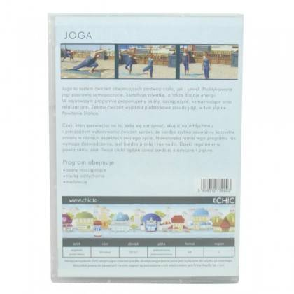 Ćwiczenia instruktażowe DVD Joga MayFly - 3 | klubfitness.pl | sprzęt sportowy sport equipment