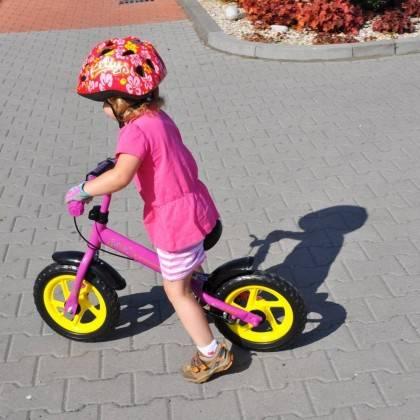 Rowerek biegowy WORKER TOUCAN różowy koła 12'',producent: WORKER, photo: 7