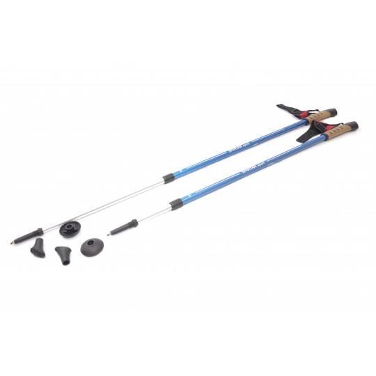 Kije nordic walking z rękawiczką Spartan Sport | długość 85-135cm | blue,producent: SPARTAN SPORT, zdjecie photo: 1