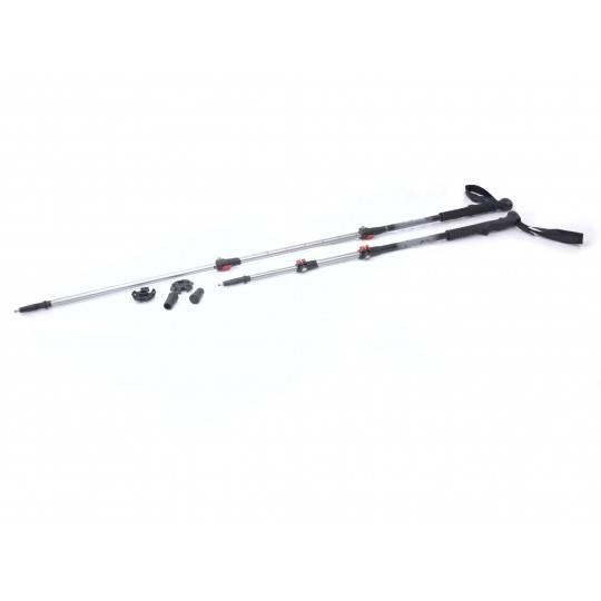 Kije trekkingowe aluminiowe Spartan Sport 2011 3 sekcyjne 110 - 135 cm,producent: , zdjecie photo: 1 | online shop klubfitness.p
