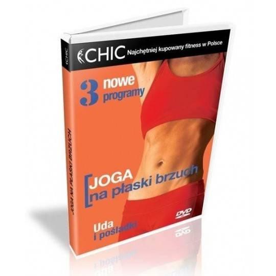Ćwiczenia instruktażowe DVD Joga Na Płaski Brzuch,producent: MayFly, zdjecie photo: 1   online shop klubfitness.pl   sprzęt spor