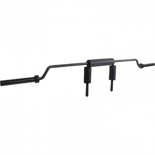 Gryf olimpijski do przysiadów Ironsports LH-50-SQ-B | 220cm squat bar black IRONSPORTS - 1 | klubfitness.pl