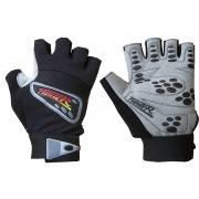 Rękawiczki kulturystyczne skórzane FIGHTER szare FIGHTER - 1 | klubfitness.pl | sprzęt sportowy sport equipment