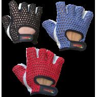 Rękawiczki skórzane treningowe FIGHTER plecionka 3 kolory,producent: FIGHTER, zdjecie photo: 1 | online shop klubfitness.pl | sp