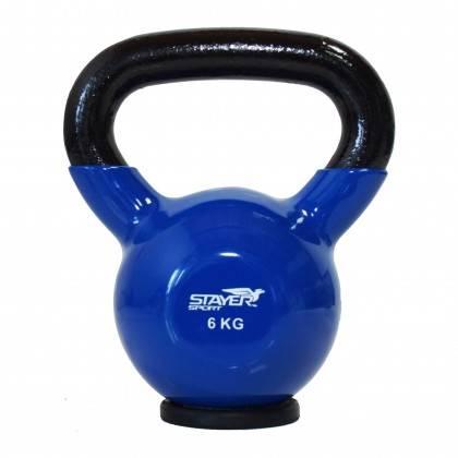 Zestaw hantli winylowych kettlebell 110 kg STAYER SPORT od 2 kg do 20 kg co 2 kg,producent: Stayer Sport, zdjecie photo: 4 | onl