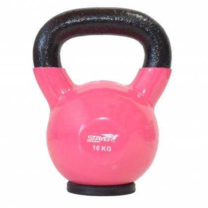 Zestaw hantli winylowych kettlebell 110 kg STAYER SPORT od 2 kg do 20 kg co 2 kg,producent: Stayer Sport, zdjecie photo: 6 | onl