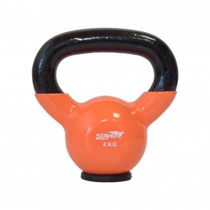 Zestaw hantli winylowych kettlebell 110 kg STAYER SPORT od 2 kg do 20 kg co 2 kg,producent: Stayer Sport, zdjecie photo: 3 | onl