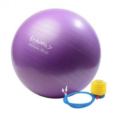 Piłka gimnastyczna HMS YB02 65cm | fioletowa,producent: HMS, zdjecie photo: 1 | online shop klubfitness.pl | sprzęt sportowy spo