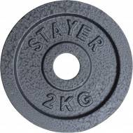 Obciążenie żeliwne 29 mm STAYER SPORT STH hammertone waga od 0.5kg do 25 kg,producent: STAYER SPORT, photo: 11