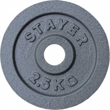 Obciążenie żeliwne 29 mm STAYER SPORT STH hammertone waga od 0.5kg do 25 kg,producent: STAYER SPORT, photo: 9