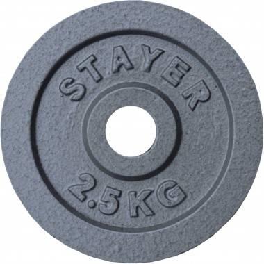 Obciążenie żeliwne 29 mm STAYER SPORT STH hammertone waga od 0.5kg do 25 kg,producent: STAYER SPORT, photo: 9
