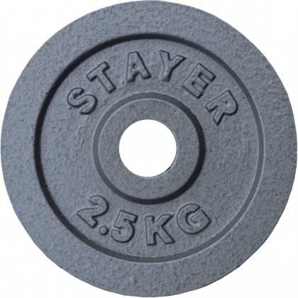 Obciążenie żeliwne 29mm STAYER SPORT STH hammertone,producent: Stayer Sport, zdjecie photo: 6 | online shop klubfitness.pl | spr