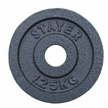 Obciążenie żeliwne 29 mm STAYER SPORT STH hammertone waga od 0.5kg do 25 kg,producent: STAYER SPORT, photo: 3