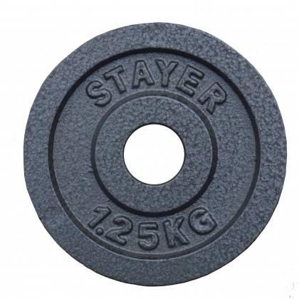 Obciążenie żeliwne 29mm STAYER SPORT STH hammertone,producent: Stayer Sport, zdjecie photo: 8 | online shop klubfitness.pl | spr