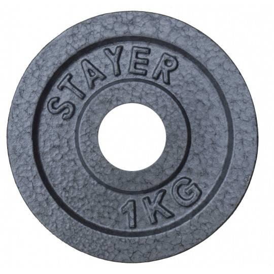 Obciążenie żeliwne hammertone Stayer Sport STH | 29mm | waga 0.5kg÷20kg,producent: Stayer Sport, zdjecie photo: 2 | online shop