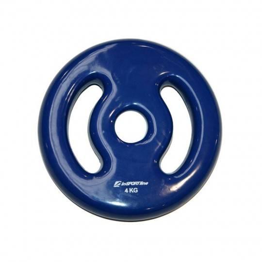 Obciążenie winylowe 4 kg/31mm ERGO inSPORTline Insportline - 1 | klubfitness.pl | sprzęt sportowy sport equipment