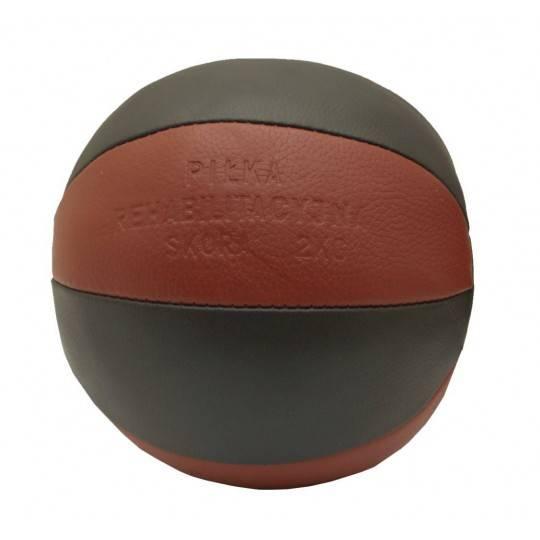 Piłka lekarska 2 kg STAYER SPORT skóra naturalna,producent: Stayer Sport, zdjecie photo: 1 | online shop klubfitness.pl | sprzęt