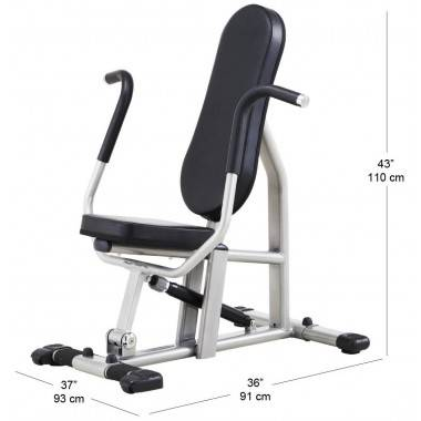 Trening obwodowy STEELFLEX CPB300 BLACK mięśnie klatki piersiowej,producent: STEELFLEX, photo: 2