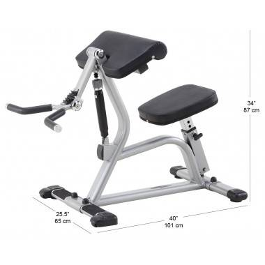 Trening obwodowy STEELFLEX CBC400 BLACK mięśnie bicepsów,producent: STEELFLEX, photo: 2