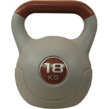 Hantla winylowa kettlebell STAYER SPORT VIN-KET 18kg brązowa,producent: STAYER SPORT, photo: 1