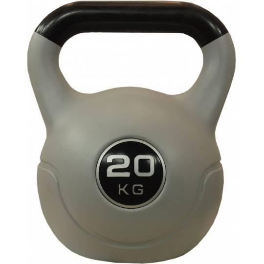 Hantla winylowa kettlebell STAYER SPORT VIN-KET 20kg czarna Stayer Sport - 1 | klubfitness.pl