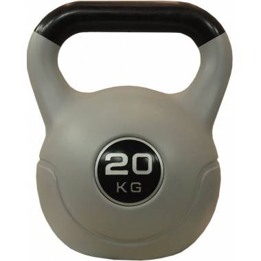 Hantla winylowa kettlebell STAYER SPORT VIN-KET 20kg czarna,producent: Stayer Sport, zdjecie photo: 1 | online shop klubfitness.