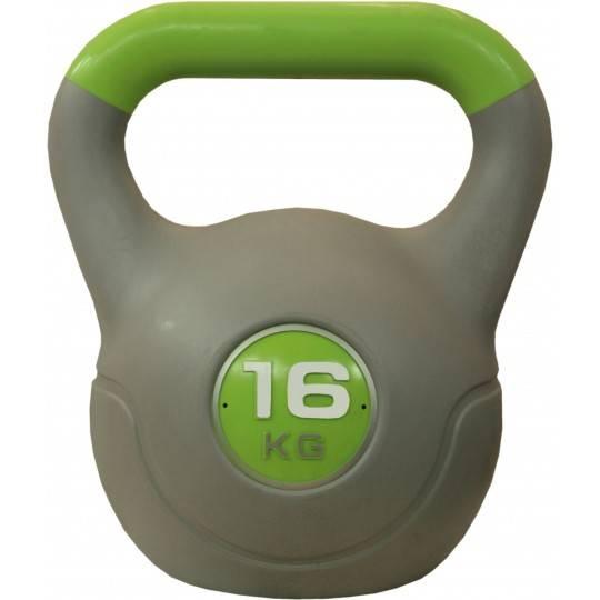 Hantla winylowa kettlebell STAYER SPORT VIN-KET 16kg zielona Stayer Sport - 1 | klubfitness.pl