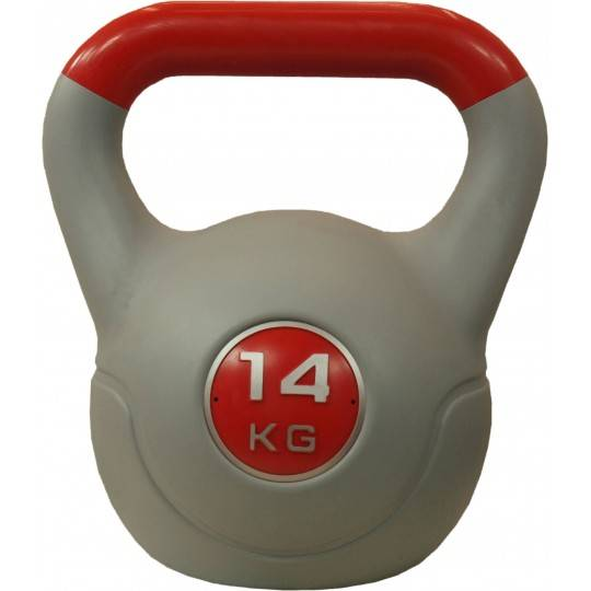 Hantla winylowa kettlebell STAYER SPORT VIN-KET 14kg czerwona,producent: STAYER SPORT, photo: 1