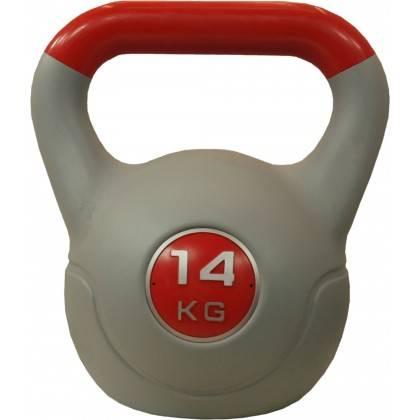 Hantla winylowa kettlebell STAYER SPORT VIN-KET 14kg czerwona,producent: Stayer Sport, zdjecie photo: 1 | online shop klubfitnes