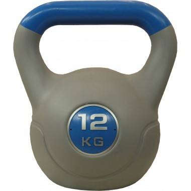 Hantla winylowa kettlebell STAYER SPORT VIN-KET 12 kg niebieska,producent: STAYER SPORT, photo: 1