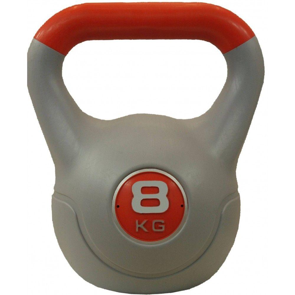 Hantla winylowa kettlebell STAYER SPORT VIN-KET 8 kg pomarańczowa Stayer Sport - 1 | klubfitness.pl | sprzęt sportowy sport equi