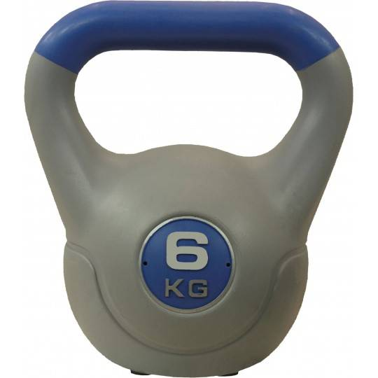 Hantla winylowa kettlebell STAYER SPORT VIN-KET 6 kg niebieska,producent: STAYER SPORT, photo: 1