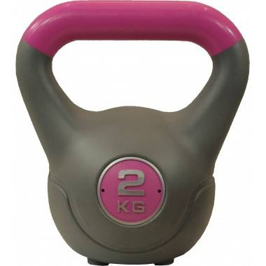 Hantla winylowa kettlebell STAYER SPORT VIN-KET 2kg różowa,producent: Stayer Sport, zdjecie photo: 1 | online shop klubfitness.p