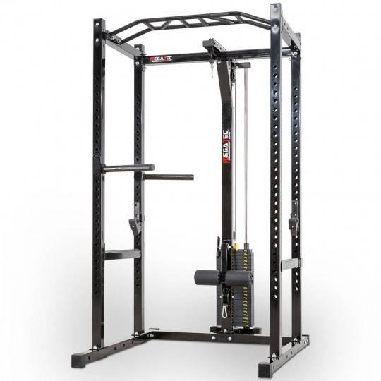 Klatka treningowa z wyciągiem 115kg MegaTec MT-PR-10+LMO-SW Power Rack,producent: MegaTec, zdjecie photo: 1   online shop klubfi
