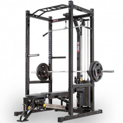Klatka treningowa z wyciągiem 115kg MegaTec MT-PR-10+LMO-SW Power Rack,producent: MegaTec, zdjecie photo: 3 | online shop klubfi